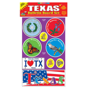 Texas Bulletin Board Set