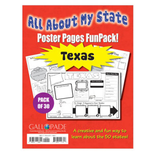 All About My State-Texas Poster Pages Fun Pack