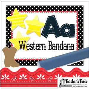 *Western Bandana