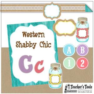 *Western Shabby Chic