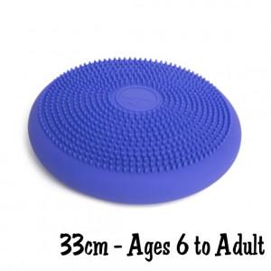 Purple 33cm Wiggle Seat, Big Sensory Cushion