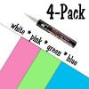 Bistro Chalk Marker Set- Educational Set, 4 Pack