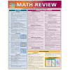 Math Review 3-Panel Laminated Guide
