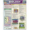 Biology 3-Panel Laminated Guide