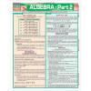 Algebra-Part 2 3-Panel Laminated Guide