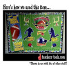 Football Bulletin Board Set