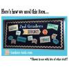Navy Blue Glossy Fadeless Bulletin Board Paper