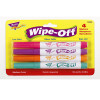 Brite Wipe-Off Markers-4 Pack