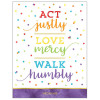 Act Justly, Love Mercy, Walk Humbly Poster