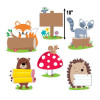 """Woodland Friends 10"""" Cut-Outs"""