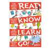 Dr Seuss Read, Know, Learn, Go Small Poster