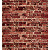 Aged Red Brick Fadeless Bulletin Board Paper