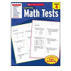 Scholastic Success with Math Tests Book Grade 4