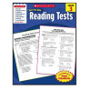 Scholastic Success with Reading Tests Book Grade 3