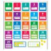 0-20 Numbers Bulletin Board