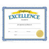 Certification of Excellence Awards