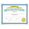 Certificate of Recognition Awards