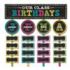 Chalkboard Brights Our Class Birthdays Mini BB