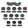 Chalkboard Brights Classroom Jobs Mini Bulletin Bd
