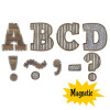 """Home Sweet Classroom Bold Block Magnet 3"""" Letters"""