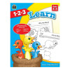 1-2-3 Learn Book - Ages 2-3