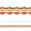 Under Construction Cones Border