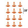 Under Construction Cones Mini Cut-Outs