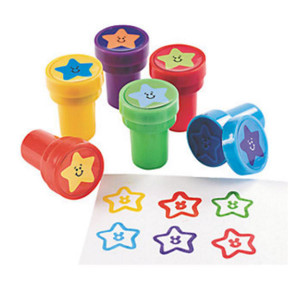 Star Stamps-6 Pack