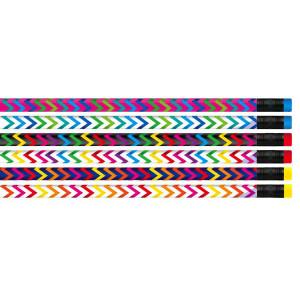 Chevron Pencils-Bag of 12