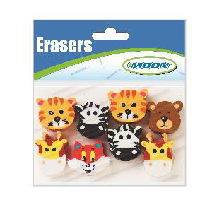 Awesome Animals Pencil Toppers- Bag of 8
