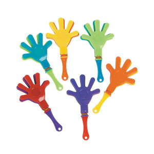 Mini Hand Clappers-8 Pack