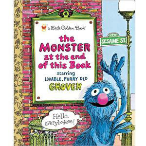 Monster at the End of this Book Little Golden Book