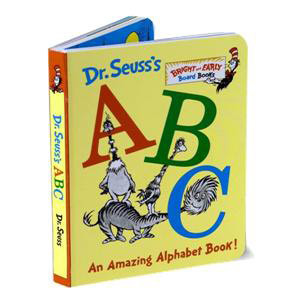Dr. Seuss's ABC Board Book