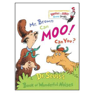 Mr. Brown Can Moo, Can You? Board Book