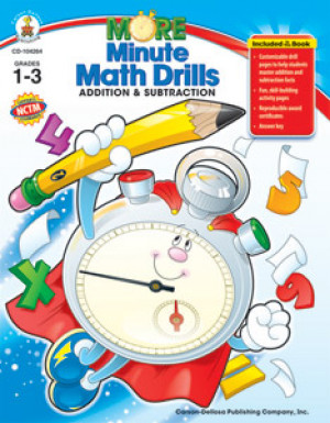 More Minute Math Drills: Addition and Subtraction