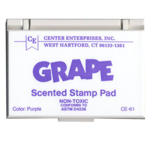 Grape (Purple) Scented Stamp Pad