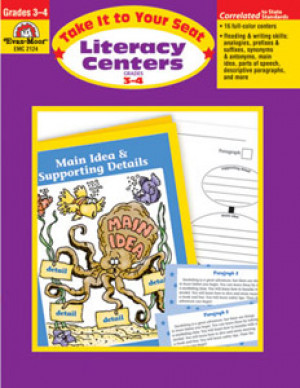 Literacy Centers Book Grades 3-4