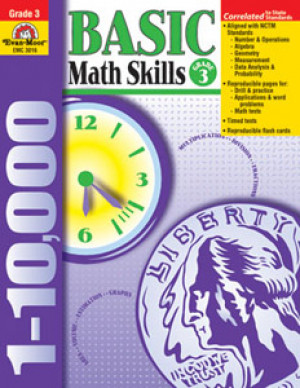 Basic Math Skills Book Grade 3