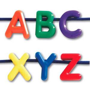 Alphabet Letter Beads