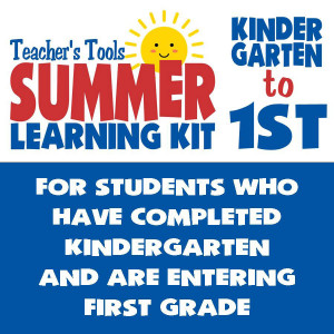 Summer Learning Kit-Between Kindergarten & Grade 1