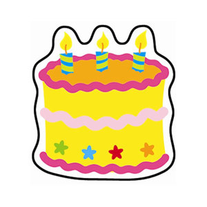 Birthday Cake Mini Cut-Outs