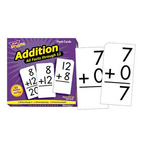 All Facts Addition Flash Cards