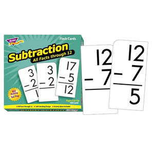 All Facts Subtraction Flash Cards