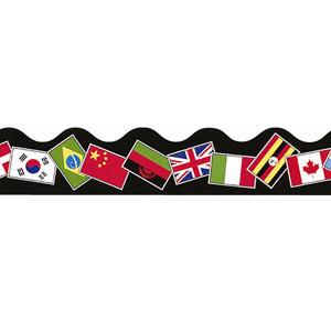 World Flags Border