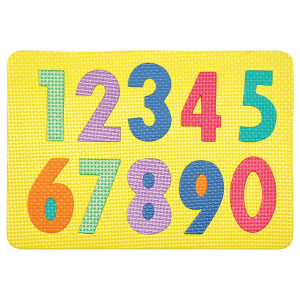 Wonderfoam Magnetic Numbers Puzzle
