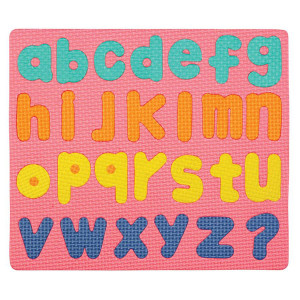 Wonderfoam Magnetic Lowercase Letters Puzzle