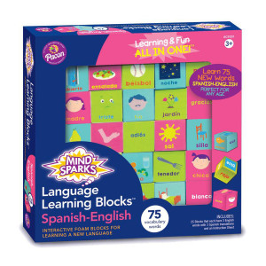 Language Learning Blocks-Spanish/English