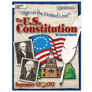 U.S. Constitution: Sign On the Dotted Line! Book