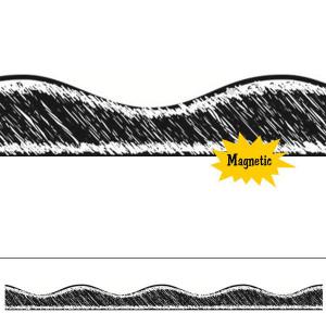 Black Chalk Magnetic Border