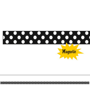 B/W Dots Mini Magi Strip